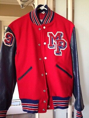 Butwin Vintage Letterman Jacket Size 36 1970's