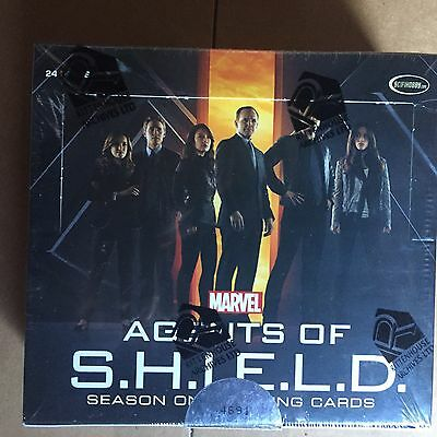 Agents Of Shield Season 1 Sealed Box Rittenhouse Autograph Autos Rare