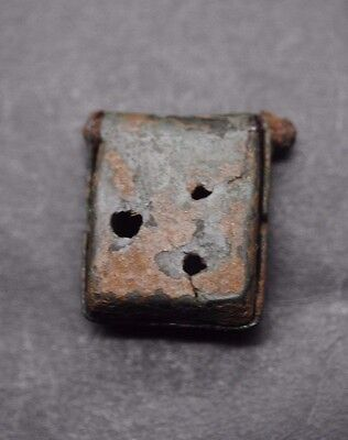 Ancient Roman Bronze Seal Box 1St - 2Nd Century Ad, British Find.