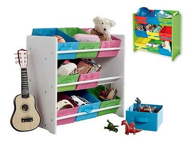 Kids' Storage Shelves 9 practical fabric storage boxes