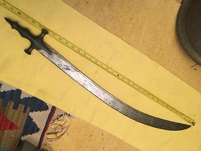 Antique  Turkish - Mughal Sword  Large blade  Ottoman style Kilij - Shamshir