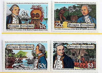 Grenada Grenadines – 1978 Capt. Cook Set – Un.Mint (MNH) (R3)