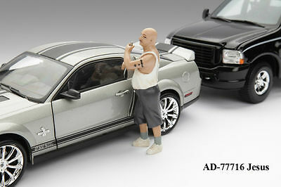 Car thief/Locksmith?  -1/24 - G scale figure -NEW from American Diorama