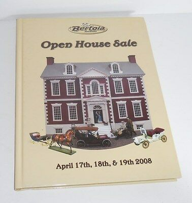 2008 Bertoia Auctions Open House Sale Book Price Guide Collectibles & Antiques