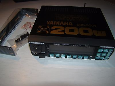 Yamaha Sbs-900Y -- Computer 7 Band Integrated Graphic Equalizer Amplifier Spectr