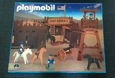Playmobil 3419 Western Fort Randall New Very Rare!