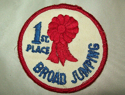 """1st Place Broad Jumping  Patch   3"""""""
