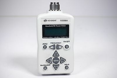 Keysight Used V3500A Handheld RF Power Meter, 10 MHz to 6 GHz (Agilent V3500A)