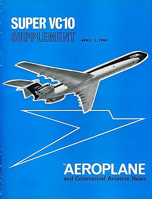 Vickers VC-10 BOAC Aeroplane Supplement 1965