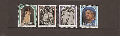 Seychelles 2000 Queen Mother  Mnh Set Of Stamps