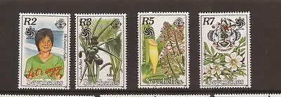 Seychelles 1990 Expo  Mnh Set Of Stamps