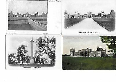 BLENHEIM PALACE Lot 5 Oxfordshire Woodstock Postcard Mainly Early