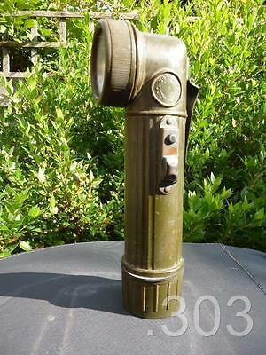 c. Falklands War British Army Military Right Angled Torch GEC