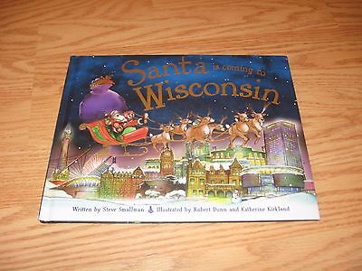 Santa is Coming to Wisconsin by Steve Smallman Hardcover BOOK