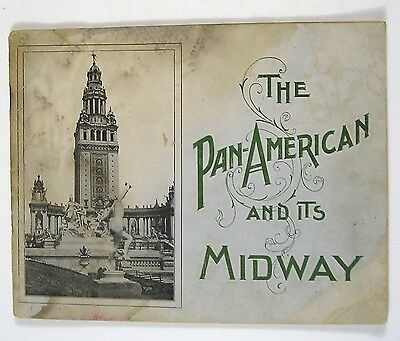1901 The Pan American and Its Midway, View Book