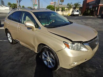 2010 Lexus RX RX 350 AWD  2010 Lexus RX 350 AWD Wrecked Loaded Priced To Sell!! Export Welcome!! L@@K!!