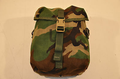 New - USGI MOLLE II Sustainment Pouch, Woodland Camouflage - Unissued Surplus
