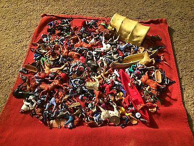 huge joblot of timpo toy soldier parts for spares and repair