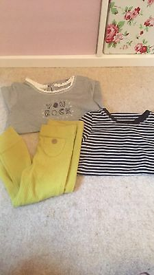 12-18 New Without Tag Long Sleeve Top And Legging Bundle