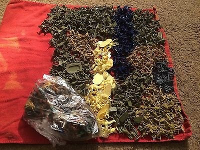 huge joblot of 1000+ airfix 1/72nd scale toy soldiers