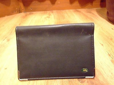land rover booklet wallet