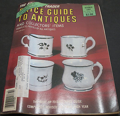 The Antique Trader Price Guide To Antiques October 1987 Tea Leaf Ironstone