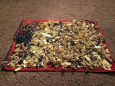 massive joblot of 1000+ 1/72nd scale waterloo toy soldiers by airfix