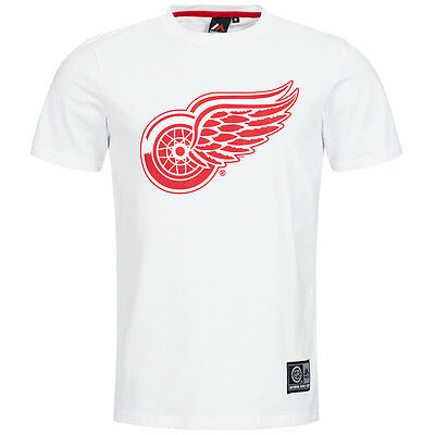 Detroit Red Wings Majestic NHL Herren Freizeit Sport Fan T-Shirt Eishockey neu