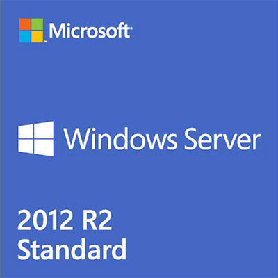 Microsoft Windows Server 2012 R2 Standard DVD Englisch 2 CPU, 2 VM OEM P73-06165