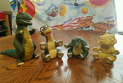 Pizza Hut Land Before Time little foot, sara, spike, trex