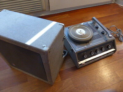 Newcomb Variable Speed Phonograph
