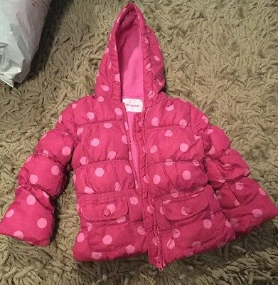 Girls 2 - 3 Years Polka Dot Cherokee Tesco Rain Coat