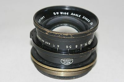 Vintage Ross of London 5 Inch Wide Angle Express F.4 (E.M.I) Lens, Air Ministry