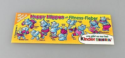 BPZ Die Happy Hippos Fitness 1990 ORI&TOP