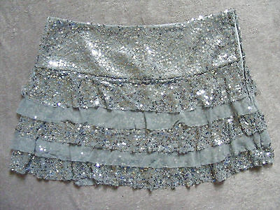 Generation Newlook Girls Sequin Tier Skirt.age 14 Years