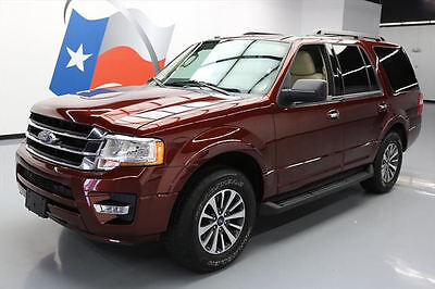 2016 Ford Expedition  2016 FORD EXPEDITION XLT ECOBOOST 8PASS REAR CAM 13K MI #F50086 Texas Direct