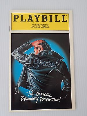 Grease Playbill Fox Theatre St Louis Sally Struthers Adrian Zmed Phillips June97