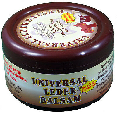 72x 250ml Leather Balm Care Grease Bee Wax Protection