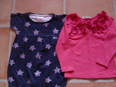 2 x girls tops 12-18mth and 18-24mth