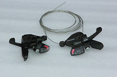 Brand New a pair of Shimano ALTUS SL-M310 3 / 8 DUAL LEVER SHIFTERS