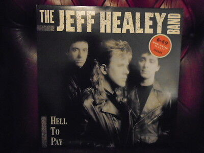 """The Jeff Healey Band 12"""" LP Vinyl Hell To Pay"""