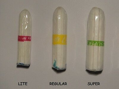 100 Loose Lil-Lets Non-Applicator Tampons Lite ~~Size Lite~~
