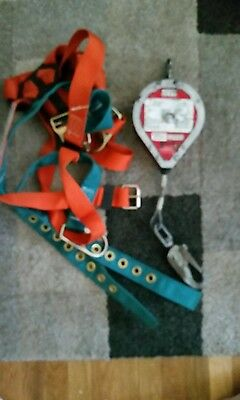 Safety harness with life line