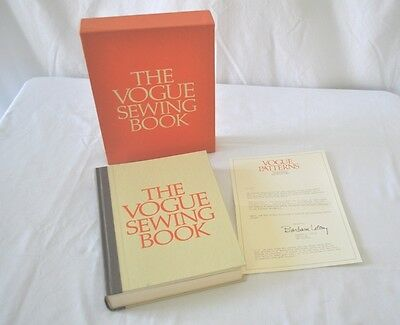 The Vogue Sewing Book Rare Vintage 3rd Print 1971