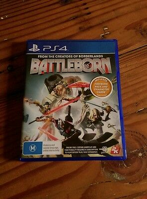PS4 game Battleborn- from the creators of Borderlands