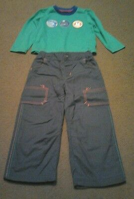 Boys chad valley top and trouser set  2-3 years nwot