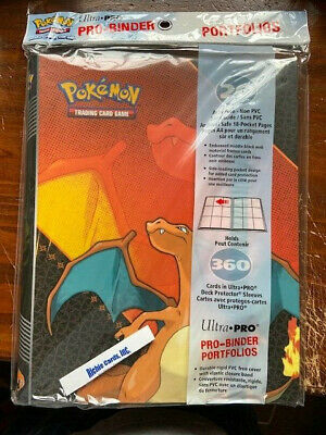 ULTRA PRO  Pokemon Card CHARIZARD PRO Album Binder Portfolio Pocket Pages Sheets