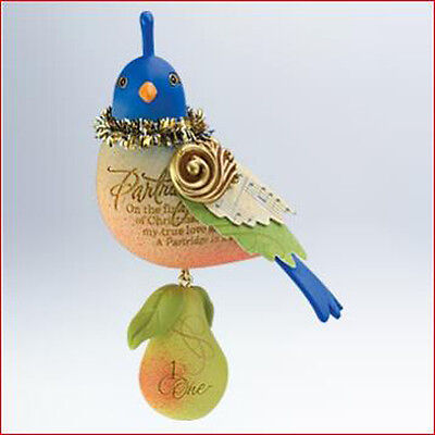 2011 Hallmark PARTRIDGE IN THE PEAR TREE #1 Ornament 12 TWELVE DAYS OF CHRISTMAS