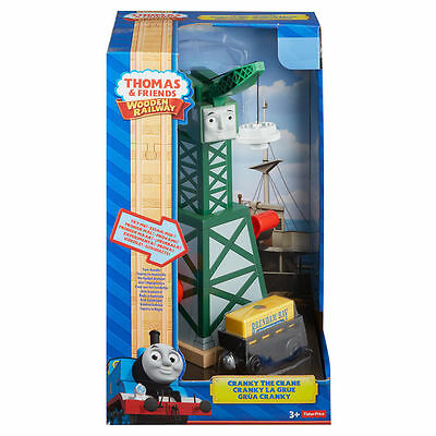 NEW IN BOX CRANKY the CRANE Thomas & Friends Wooden Railway
