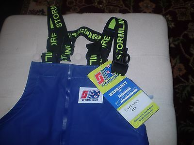 STORMLINE 600 Captains Bib FISHING GEAR OVERALLS Deadliest CATCH MENS SMALL NWT
